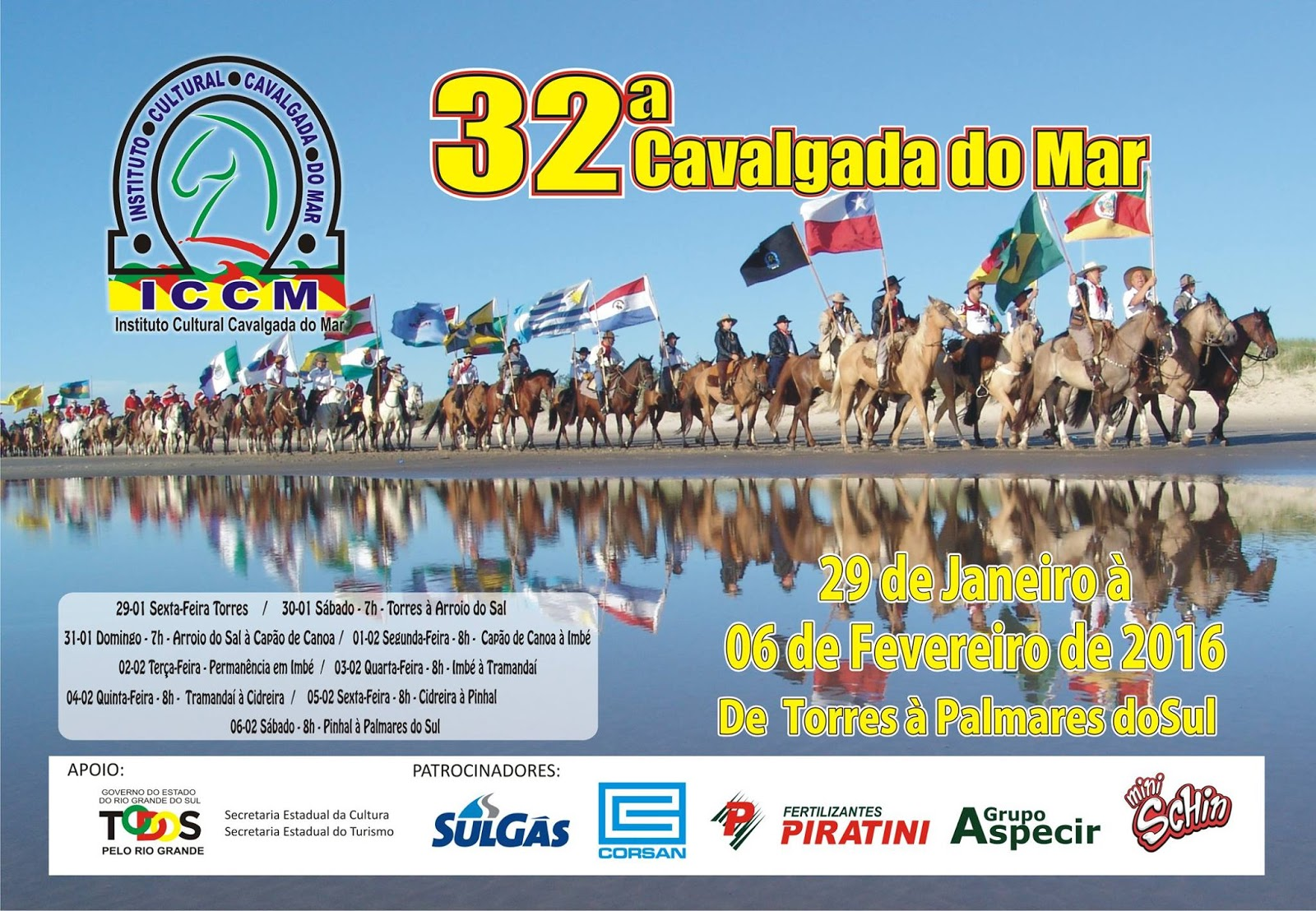 cavalgada do mar 32